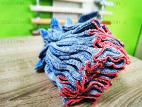 Перчатки 4х нитиевые  10 класс вязки.. Серые с ПВХ покрытием.