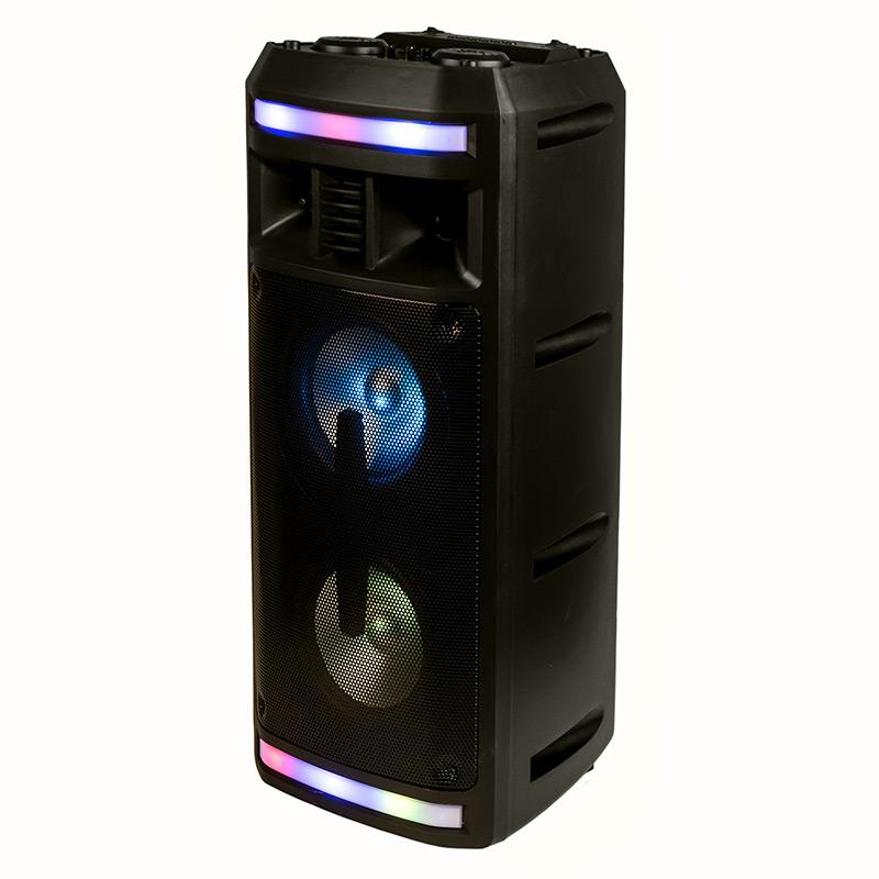 Активная напольная колонка Dialog Oscar AO-12 - 30W RMS, Караоке с микрофоном, BT+FM+USB+SD+LED