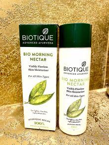 Лосьон для лица Биотик Био Утренний Нектар SPF30 (Biotique Bio Morning Nectar Flawless Skin Lotion), 120мл