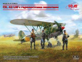 CR. 42 LW с германскими пилотами