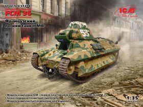 FCM 36, Французский легкий танк II МВ