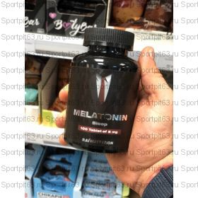 Melatonin 5 mg 100 таб (RavNutrition)
