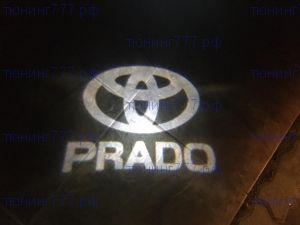 Проекция логотипа в плафонах подсветки, на 2 двери