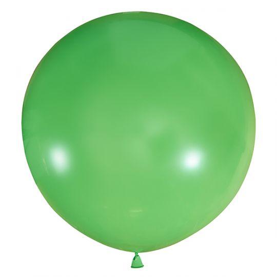 Лайм метровый шар латексный с гелием
