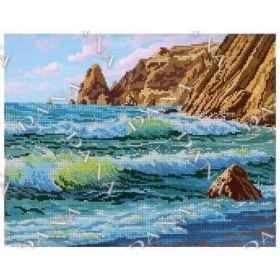 Dana DANA-3498 Океан схема для вышивки бисером купить в магазине Золотая Игла