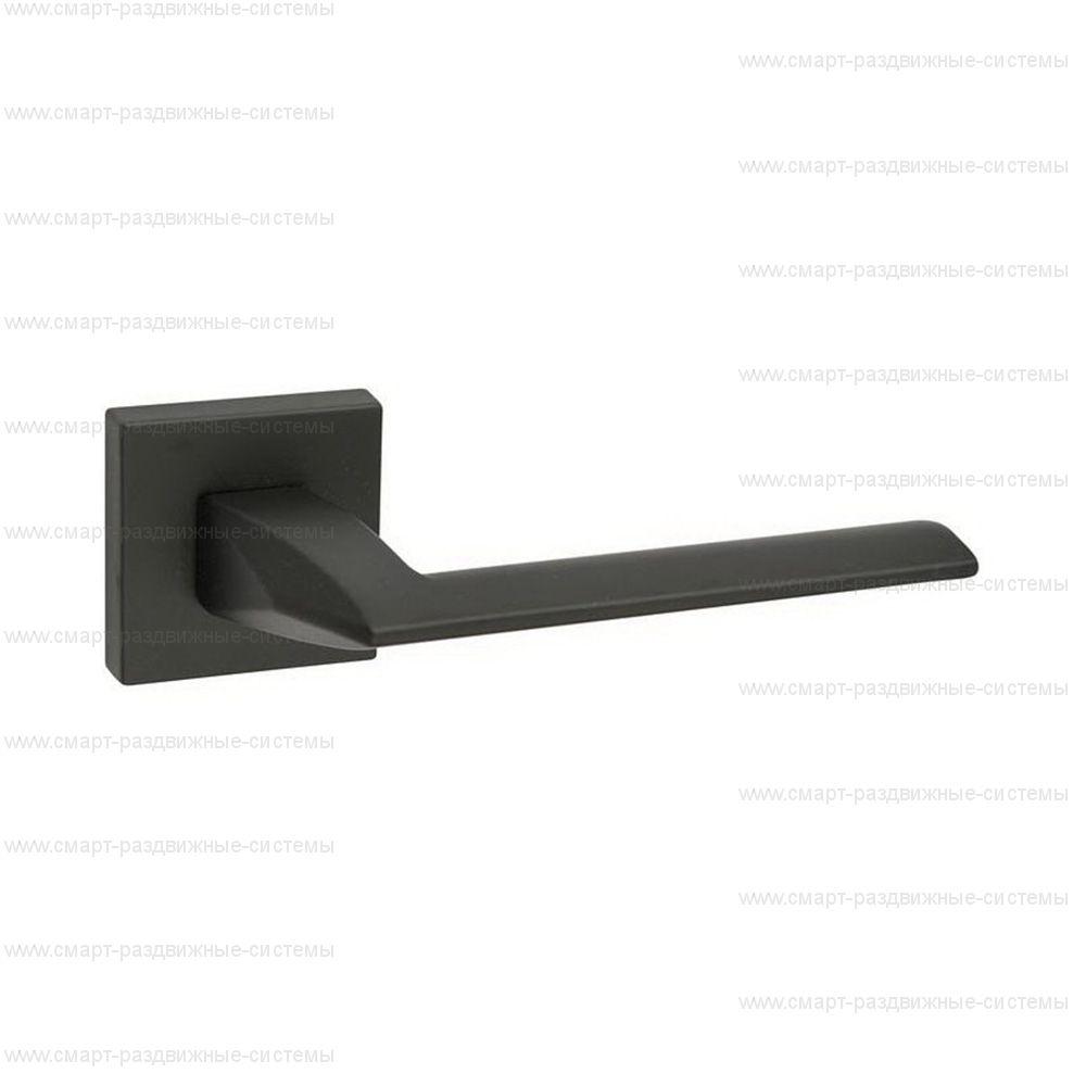 Ручка на розетке Fimet Pura Black 1352/201