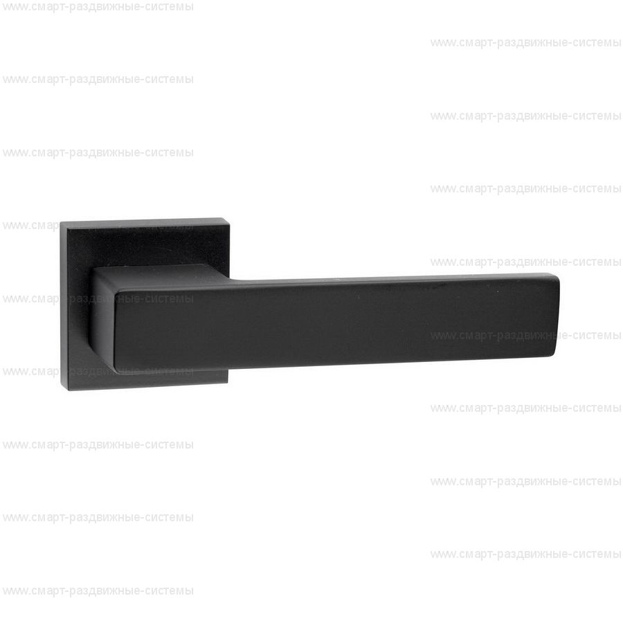 Ручка на розетке Fimet Elle Black 132C/201