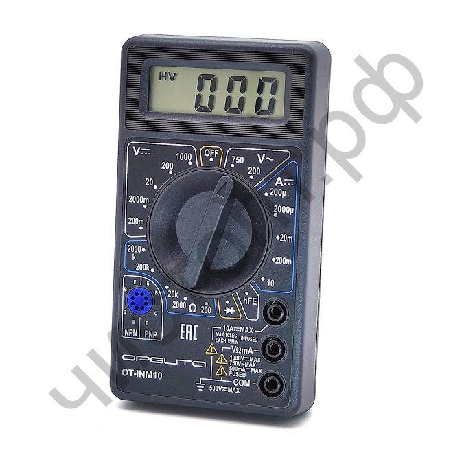 Мультиметр OT-INM10 универс. цифр.