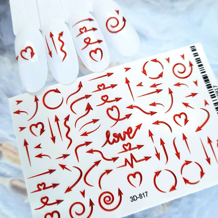 3D ХРУСТАЛЬНЫЙ СЛАЙДЕР-ДИЗАЙН 3D817  СRYSTAL LOVE  Супер эффект!!!