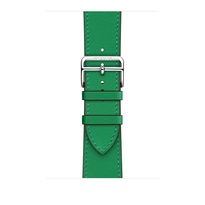 Ремешок Apple Watch Hermès Bambou Swift Leather Single Tour из кожи (для корпуса 44 мм)