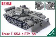Танк Т-55А с БТУ-55