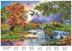 Dana DANA-3401 Осень за Городом схема для вышивки бисером купить в магазине Золотая Игла