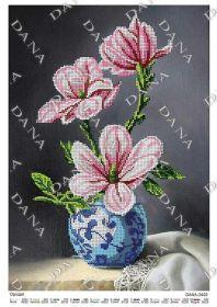 Dana DANA-3402 Орхидея схема для вышивки бисером купить в магазине Золотая Игла