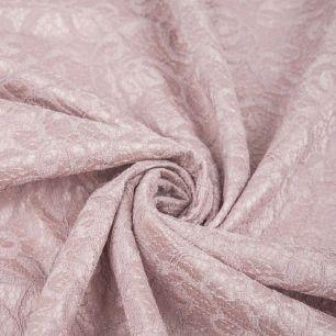 Гипюр на подкладе - Пыльно-розовый 50*37 см