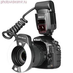 Кольцевая вспышка Meike MK-14EXT (i-TTL Nikon)