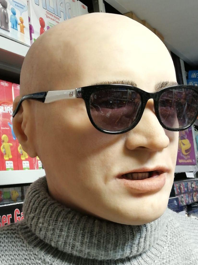 Реалистичная маска из силикона Парень