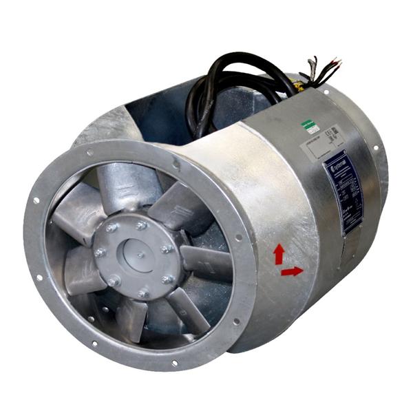 Взрывозащищенный вентилятор AXCBF-EX 500-9/14°-2