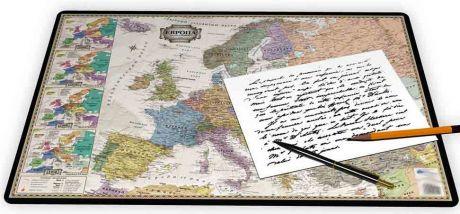 Коврик для письма «Европа ретро»