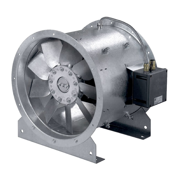 Взрывозащищенный вентилятор AXC-EX 450-7/14°-4