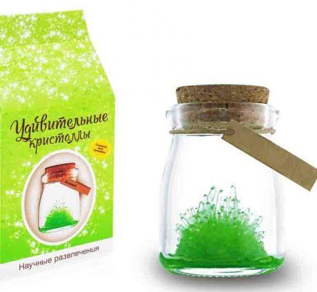 Удивительный кристалл Зеленый
