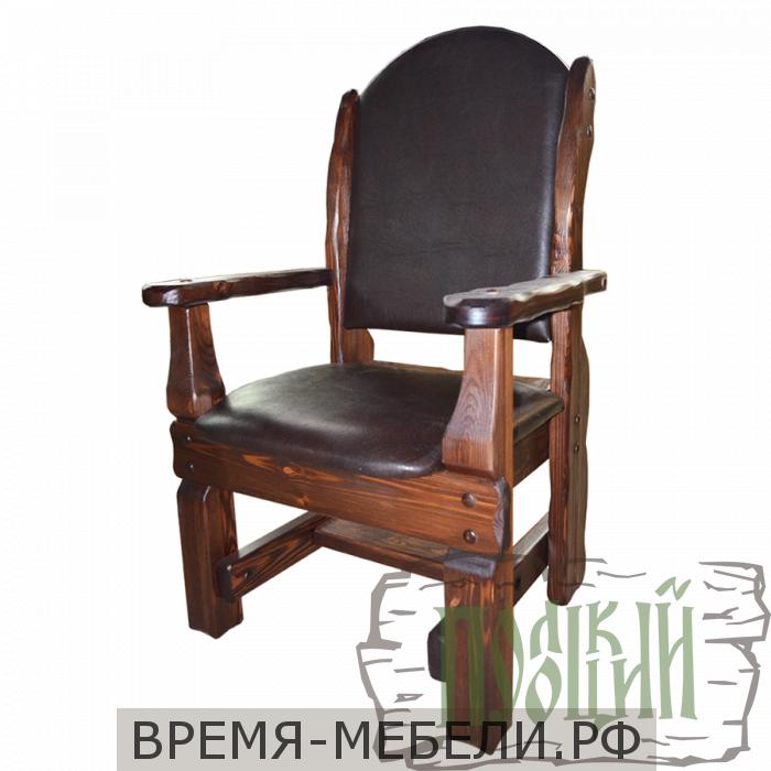 """Кресло """"Купец"""" (кожа)"""
