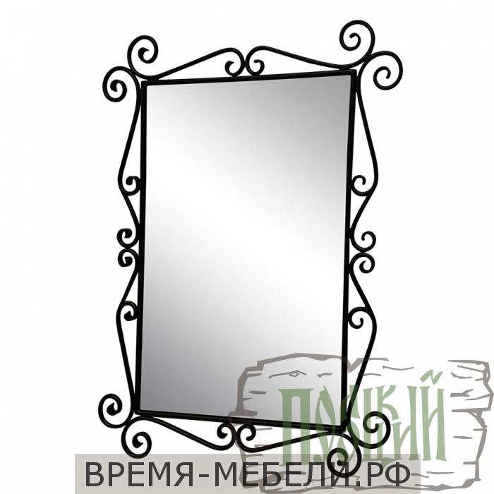 Зеркало с элементами ковки Д-2