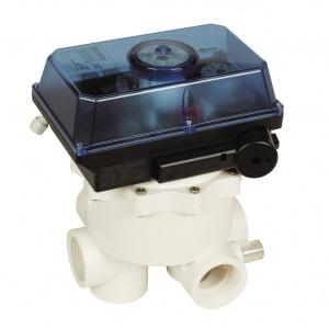 """Вентиль автоматический Praher AQUASTAR COMFORT 6501 (боковое подключение, 6-ти ходовой, 1 1/2"""")"""