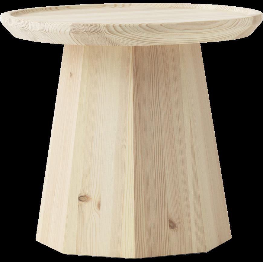 Столик из цельного дерева
