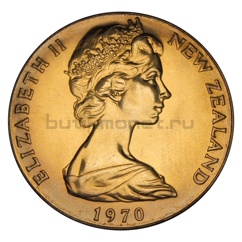 1 доллар 1970 Новая Зеландия Острова Кука