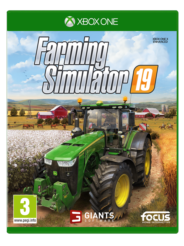 Игра Farming Simulator 2019 (Xbox One)