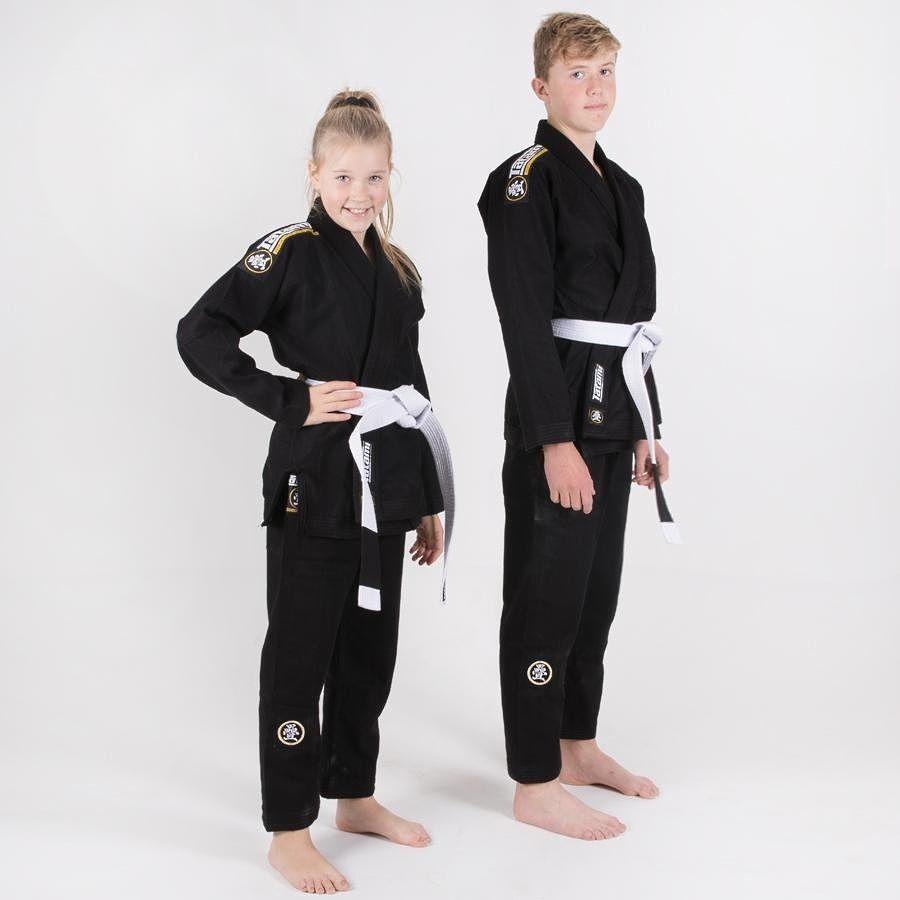 Детское кимоно Tatami Nova Absolute Black