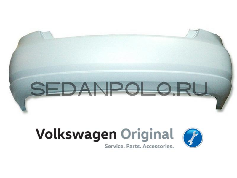 Бампер задний Volkswagen Polo Sedan 2010-2015
