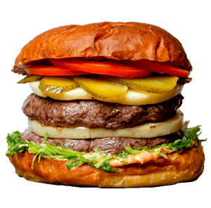 Двойной чизбургер 470г