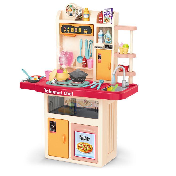 922-105/106 Детская игровая кухня с водичкой и паром 97 см.