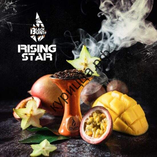 "Табак Burn BLACK 25 г ""Rising Star"" (""Восхождение звезды"")"