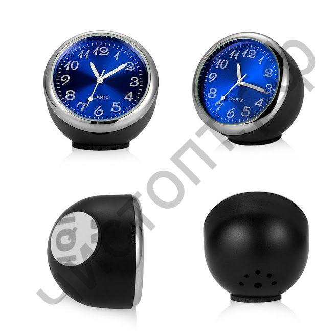 Часы  эл. авто OT-CLC03 (Синий) видно в темноте