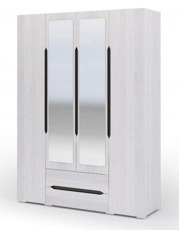 ВАЛЕНСИЯ  ШК 014 шкаф 4х створчатый с ящиками
