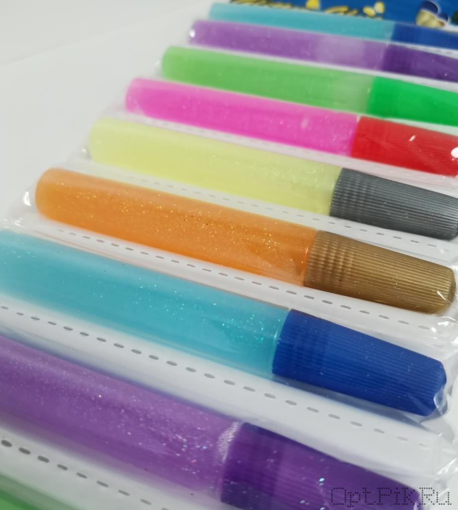 Набор разноцветного декоративного клея