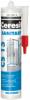 Герметик Санитарный Ceresit CS 15 280мл Силиконовый, Белый, Бесцветный / Церезит ЦС 15