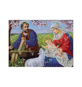 Dana DANA-2434. Святое Семейство схема для вышивки бисером купить оптом в магазине Золотая Игла