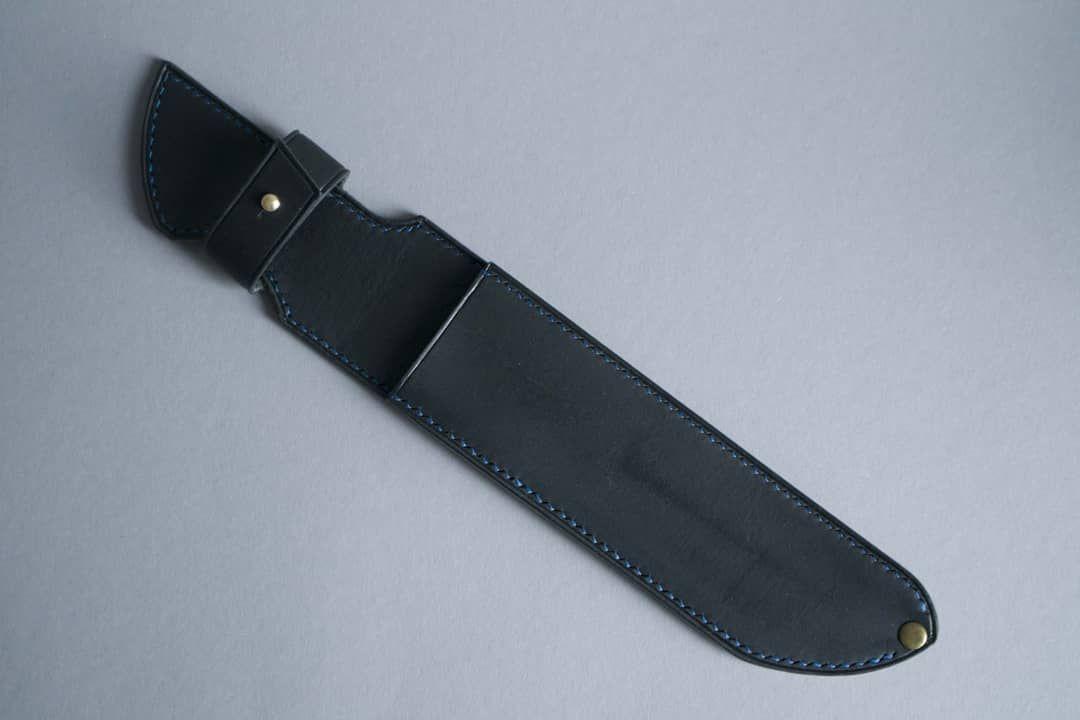 Ножны из натуральной кожи ручной работы мод.2
