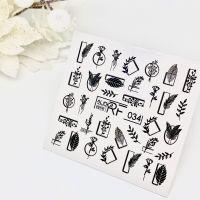 Слайдер дизайн SLIDER RF design nails (74мм х 71мм) -034- СЛАЙДЕР РФ