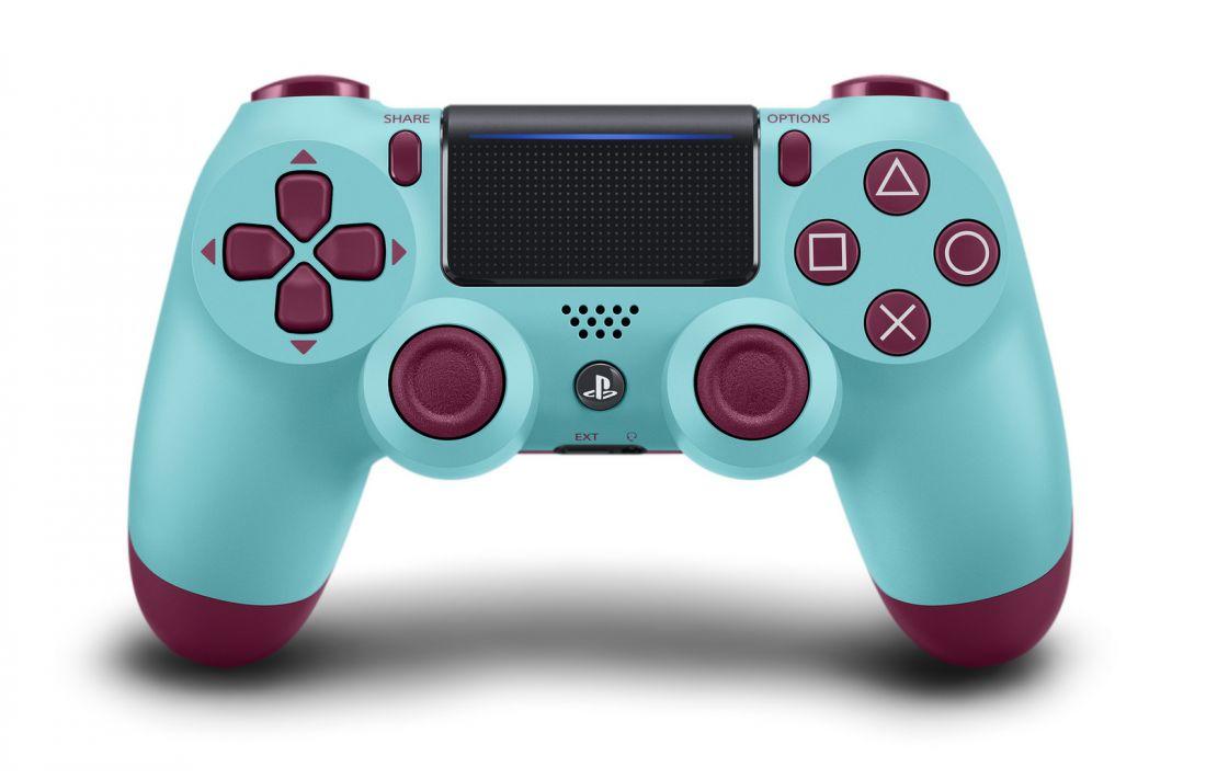 Геймпад Sony DualShock 4 V2 Berry Blue ежевичная лазурь