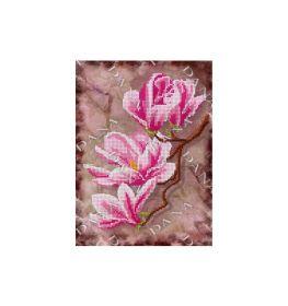 Dana DANA-2437. Ветка Магнолии схема для вышивки бисером купить оптом в магазине Золотая Игла