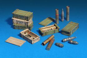 Боекомплект артиллерийских снарядов, 122 мм