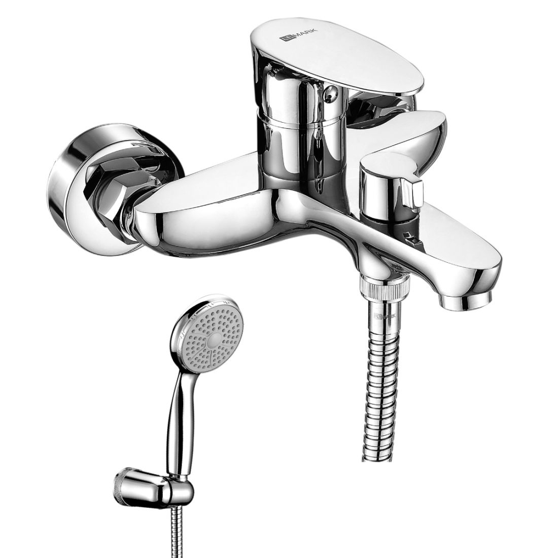 Смеситель Lemark Nero для ванны с коротким изливом