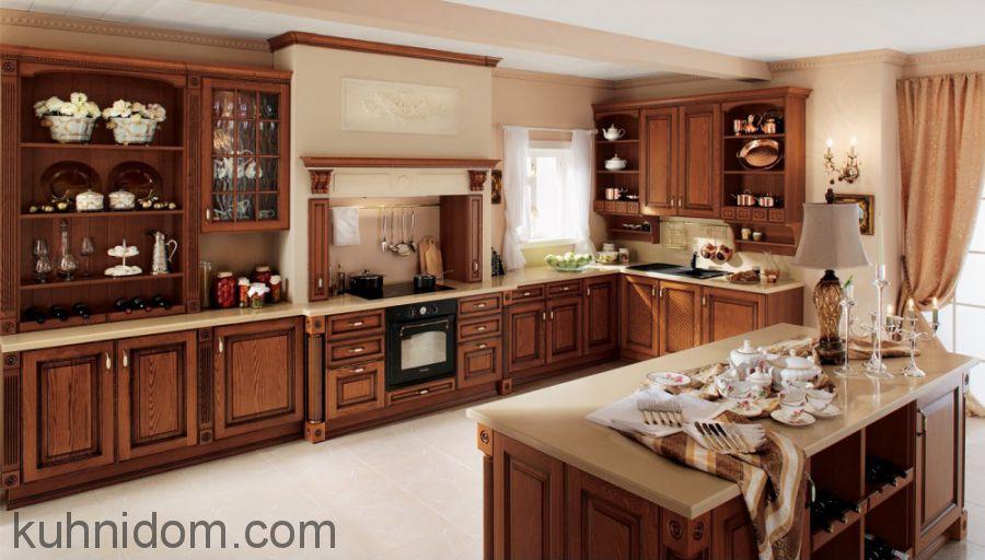 Кухня Сорренто с порталом