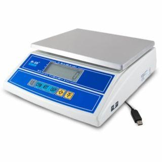 """Фасовочные настольные весы M-ER 326 AFL """"Cube"""" c USB-COM LCD"""
