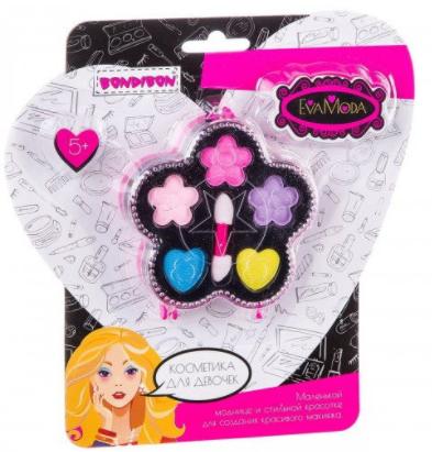 Набор детской декоративной косметики цветок с тенями для век