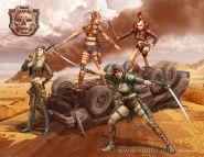 Фигуры Серия битвы в пустыне, Клан Черепа - Ангелы Смерти